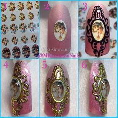 Show Your Creativity With Hand Painted Nail Art Designs Fancy Nails, Diy Nails, Pretty Nails, Beautiful Nail Designs, Beautiful Nail Art, Gel Nail Art, Acrylic Nails, Punk Nails, 3d Nail Designs