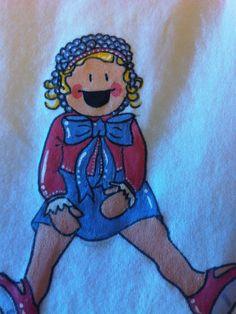 """Tus niños """"retratados"""" by Pepete T-shirt"""
