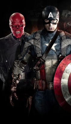 Captain America & Red Skull