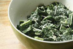 Kale Caesar Salad- Hail to the Kale