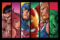Avengers by matlopes