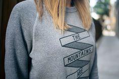 The Mountains Crewneck
