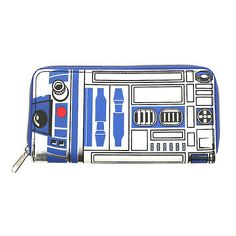 Star Wars R2-D2 Wallet Hot Topic ($13) ❤ liked on Polyvore featuring bags, wallets, white wallet, fake bags, pocket wallet, credit card holder wallet and pocket bag