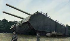 German P1000 Landkreuzer 'Ratte' Tank...