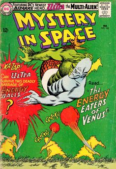 Mystery In Space #105,  February 1966, cover by Carmine Infantino and Murphy Anderson