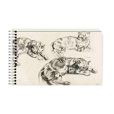 Bloc de dessin 30 feuilles - Eugène Delacroix