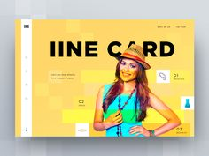 iine card landing page concepts by Cuberto #Design Popular #Dribbble #shots