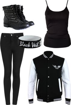 """Black Veil Brides"" by butterjar ❤ liked on Polyvore want really, really, really bad!!!"