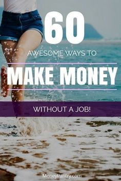 Awesome Ways to Make Money Without a Real Job (or Working for Someone) Unique and practical ways YOU can make money while unemployed.Unique and practical ways YOU can make money while unemployed. Earn Money From Home, Earn Money Online, Online Jobs, Way To Make Money, How To Make, Money Fast, Online Earning, Cash Money, Money Tips