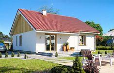 Projekt domu Zosia 5 87,47 m2 - koszt budowy 112 tys. zł - EXTRADOM
