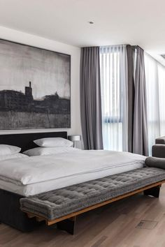 The 861-square-foot Penthouse has a studio-style design, with bright floor-to-ceiling windows. Augarten Art Hotel (Graz, Austria) - Jetsetter