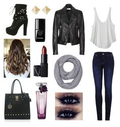 """Untitled #15"" by natali-stylinson on Polyvore featuring beauty, 2LUV, RVCA, Balenciaga, Jasmine, le top, Lancôme and NARS Cosmetics"