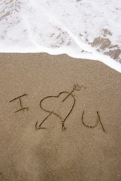 I love you #beach