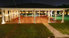 We recently stained and polished our Pavilion floor. Beautiful new upgrade! Galveston Island, Outdoor Events, Palms, Pavilion, Got Married, Our Wedding, Reception, Parties, Floor