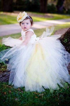 Robe de petite fille mariage