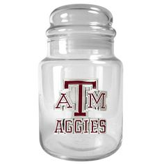 Texas A and M Aggies Candy Jar, Multicolor