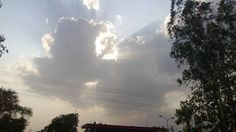 Clouds shinning at their best..