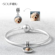 Beads Honey Spinner Dog Paw Prints Crystal Charm Beads Fit Pandora Charm Bracelet For Women Diy Jewelry Accessories Gift Elegant And Graceful Jewelry & Accessories