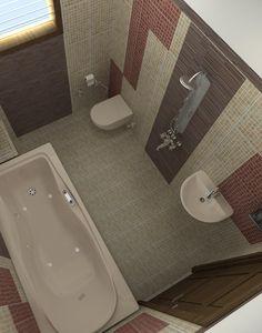 Kitchen Paint Schemes, Washroom, Building A House, House Plans, Bathtub, House Design, How To Plan, Interior, Home