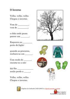 Atividades poemas sobre o inverno   1º ciclo by sofiasimao via slideshare