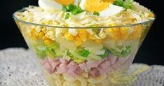 Wielkanoc - wielkanocna sałatka z szynką i ananasem Polish Recipes, Fresh Rolls, Guacamole, Potato Salad, Clean Eating, Food And Drink, Appetizers, Mexican, Favorite Recipes