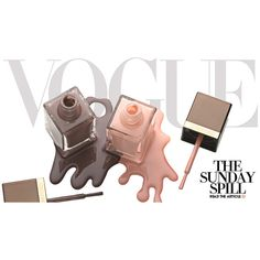 Vogue Daily ❤ liked on Polyvore featuring backgrounds, beauty, makeup, text and magazine