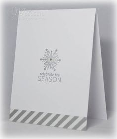 Celebrate the Season. Simple. I may use for thank you notes.