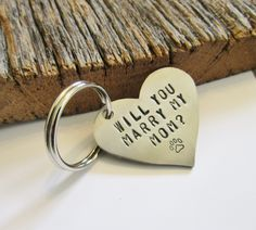 Will You Marry My Mom Pet Tag Personalized Dog Collar Valentine Puppy Proposal Use Pet to Propose Unique Engagement Idea Engraved Pet Stuff by CandTCustomLures on Etsy