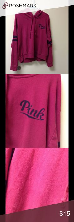 Victoria's Secret Pink Sweater Hoodie Some piling good condition otherwise PINK Victoria's Secret Sweaters