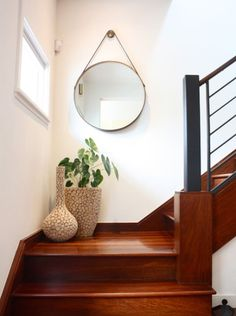 small furniture for stair landing decorating ideas - Google Search