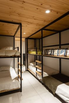 Image 9 of 18 from gallery of Aglae House / AFARQ Arquitectos. Photograph by Pablo Blanco Bunk Bed Rooms, Weekend House, Story House, Future House, House Plans, Furniture Design, Bedroom Decor, House Design, Interior Design