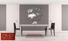 Arce  Se trata de una edición limitada de encargo del laser corte panel decorativo de aluminio en un diseño contemporáneo.  Inspirado por la grandeza del arce de azúcar en otoño, este diseño adapta a cualquier decoración.  Esto forma un excelente punto focal de cualquier habitación. Puede ser instalado firmemente en la pared o desplazamiento como deseado para crear un efecto flotante con sombreado.  El tamaño aproximado de este producto es:  Medio de: 2-1 1/4 de largo por 1 - 8 3/8 de altura…