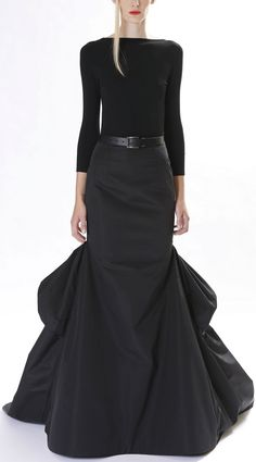 a136075df1 High waisted skirt · Black Dress | Michael Kors | Pre fall 2013. I would  have loved to have