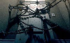 video games Silent Hill 4 chains locks doors wallpaper background