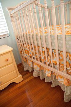 Love Bumperless Crib Sets!