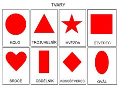 Pro Šíšu: Pracovní listy BARVY TVARY Kids Learning Activities, Diy And Crafts, Playing Cards, Shapes, Math, Aurora, Kid Activities, Day Care, Children