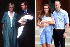 Kate Middleton Paid Tribute to Princess Diana With Her Hospital Departure Outfit