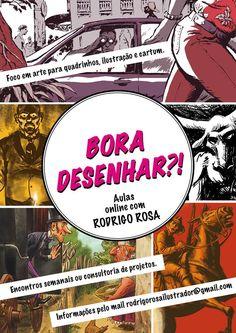 WEB TV VISUAL-ARTV: VISUAL ARTV - BORA DESENHAR?! Aulas online com ROD...