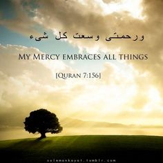 My Mercy Embraces All Things 7:156