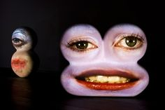 Tony Oursler, Caricatures, 2003–2005