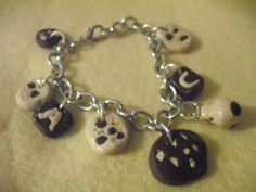 Chocolate cookie bracelet any one? £5 - Creative Connections#craftfest