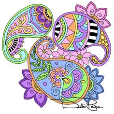 How to draw a paisley design 6 steps wikihow crafts for Basic doodle designs