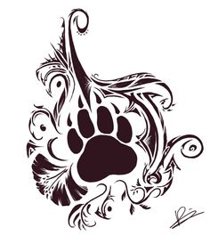 Tribal Cat Tattoo | planning on getting this tattooed on my hip lower stomach