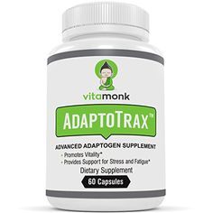 If you�re looking for a great natural adaptogen supplement then you should definitely get Adaptotrax from Vitamonk. It�s designed to improve mental and physical performance and is packed with fantastic ingredients.