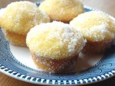 Lemon Yogurt Sugar Mini Muffins