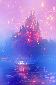 Tangled - flynn and rapunzel - disney wallpaper