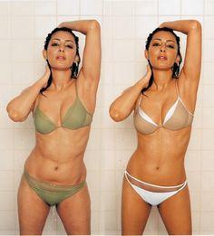 Healthy woman, Photoshopped for publishing #thin #fake #unhealthy #selfesteem