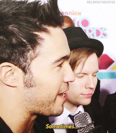 Patrick's adorable face killed me << It killed everyone.