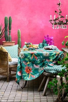 Patterned cotton tablecloth | H&M