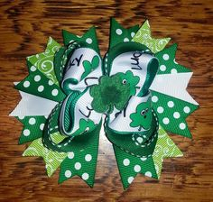 St.Patrick  BOW  Journeys bows on Facebook